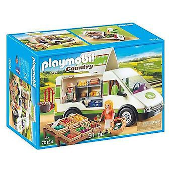 Playset Country Mobile Market Playmobil 70134 (91 st)