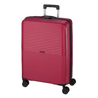 d&n Travel Line 4000 Naisten käsimatkatavaravaunu S, 4 Pyörät, 55 cm, 39 L, Pinkki
