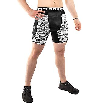 Venum Defender Urban Camo Compression Shorts Blanco/Negro