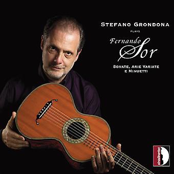 Stefano Grondona Plays Sor [CD] USA import