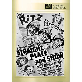Straight Place & Show [DVD] USA import