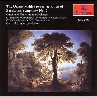 L.V. Beethoven - The Gustav Mahler Re-Orchestration of Beethoven's Symphony No. 9 (Final Version) [CD] USA import