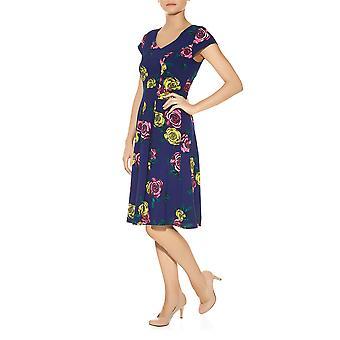 Darling Women's Floral Talia Flared Dress