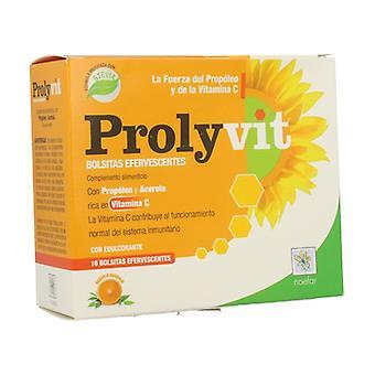 Prolyvit (Vitamin C) Effervescent Prolisan 16 packets