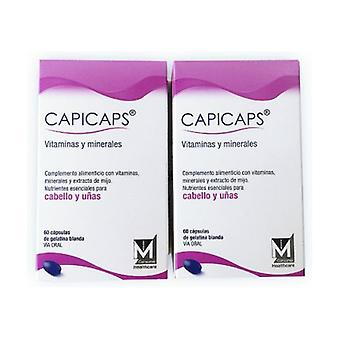 Duplo Capicaps Hair and Nails 120 capsules