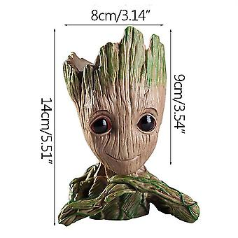 Strongwell Flower Baby Groot Pot, Plants Holder Cute Action Figures Toys -