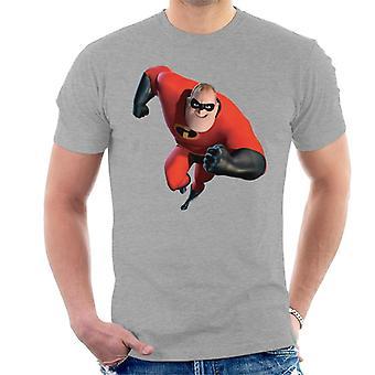 Disney Mr Incredible Run Men's T-Shirt