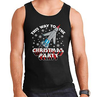 Thunderbirds This Way To The Christmas Party Men's Vest