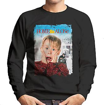 Home Alone Film Poster Men's Sweatshirt