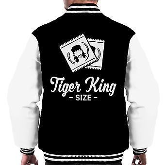 Tiger King Størrelse Joe Eksotiske Kondomer Menn & Apos;s Varsity Jakke
