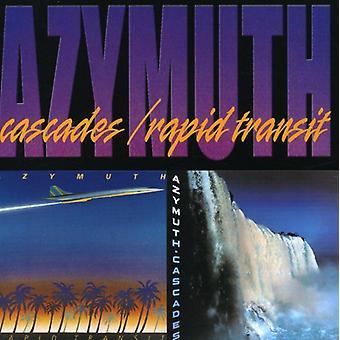 Azymuth - Cascades/Rapid Transit [CD] USA import
