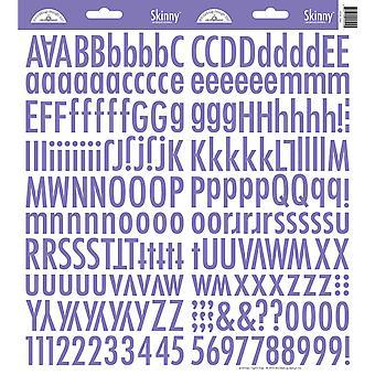 Doodlebug Design Lilac Skinny Stickers