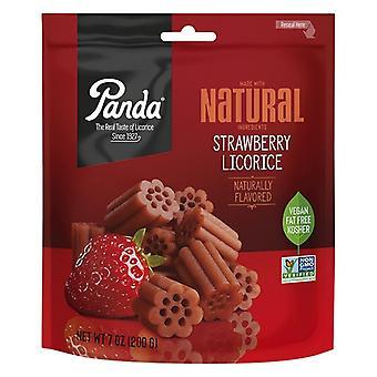 Panda All Natural Strawberry Licorice