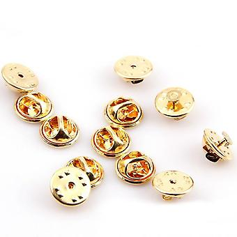 Lapel Pin Butterfly Broche Clasp - Houder Clutch Diy Buckle Squeeze Badge,