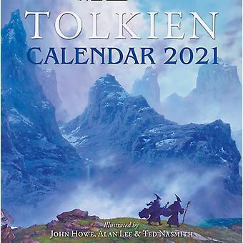 Tolkien Kalenteri 2021 Tolkien & J. R. R.