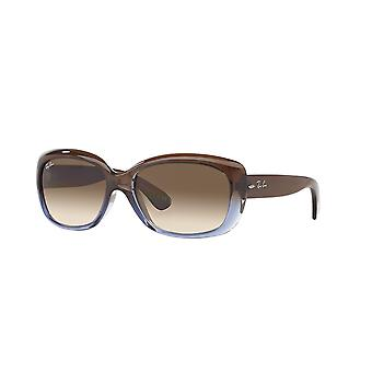 Ray-Ban Jackie OHH RB4101 860/51 Lunettes de soleil Brown Gradient/Crystal Brown Gradient