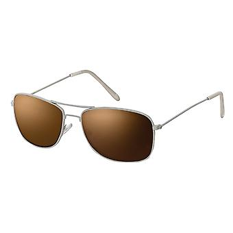 Sunglasses Unisex Harbour Cat.3 grey/brown