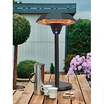 Charles Bentley 2000W Calentador de patio de mesa eléctrica