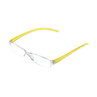 Lesebrille Unisex  Facile Gelbstärke +2,50 (le-0129F)