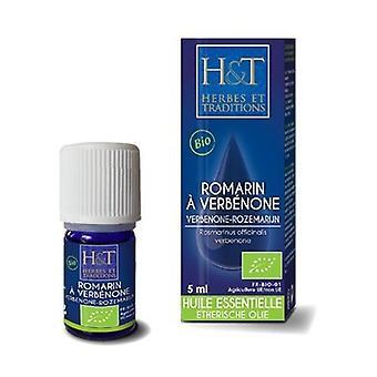 Essential Oil Rosemary in Verbenone (Rosmarinus Officinalis Verbenone) 5 ml essential oil
