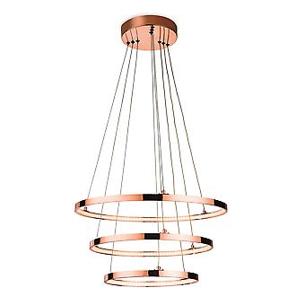 Integrated LED Ceiling Pendant Copper