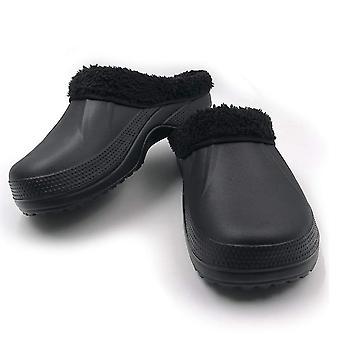 Amoji Women's Shoes Rubber Closed Toe Slip On Slippers