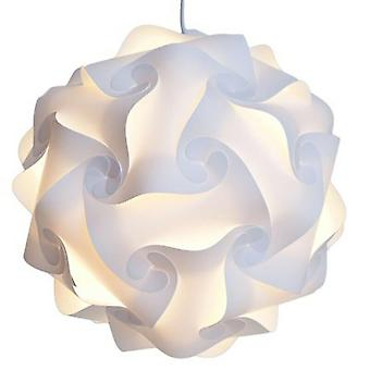 Iq Puzzle Light Lamp Shade Ceiling Lampshade Decoration Chandelier Pendant Light For Home Accessories