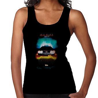 Back to the Future Delorean Headlights Design Women's Vest