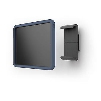 Kestävä 893823 Tabletti seinäkiinnike tableteille, joiden holkki on 7-13 tuumaa, 360° kierrettävä, hopea/antrasiitti