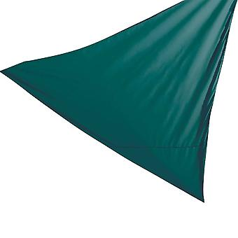 Sun Shade Sail Garden Patio Canopy - 98% UV Protectiom - Green - Triangle 3.6 x 3.6 x 3.6m