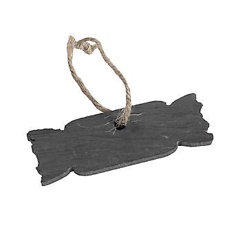 Albero di Natale Hanging Slate Decorazione - Cracker Design
