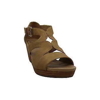 Dr. Scholl's Women's Shoes Bailey Peep Toe Casual Platform Sandals