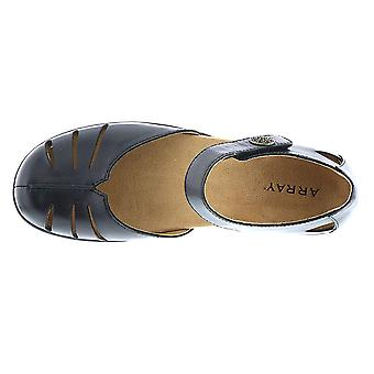 ARRAY Womens Antigua Leather Closed Toe Casual Ankle Strap Sandals