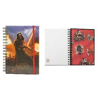 Pyramid International Star Wars Ep 7 Collection -Kylo Ren A5 Lent Cover NoteBook