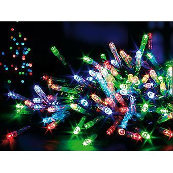 Premier Decorations Battery LED Lights x 100 Multi-Coloured LV112383M