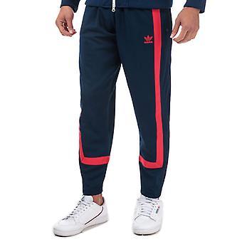 Men's adidas Originals Warm-Up Tracksuit Bottoms in Blue