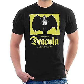 Dracula Nightmare Of Horror Men's T-Shirt