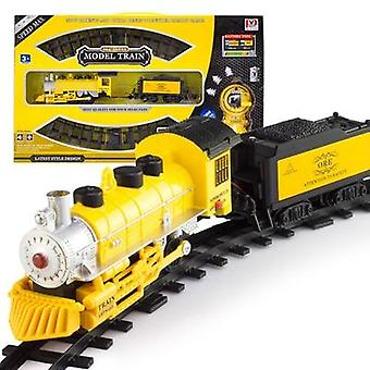 Kids Electric Railway &classical Enlighten Train Track Railroad, Electric Rail