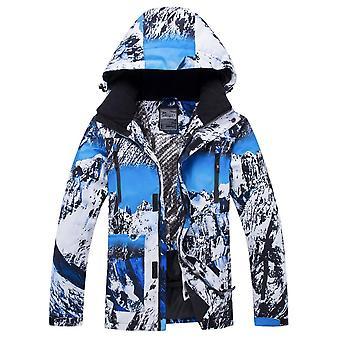 Windproof, αδιάβροχο ζεστό σκι snowboarding κοστούμια υπαίθρια ζεστό σκι σακάκι +