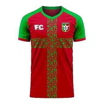 Portugal 2020-2021 Home Concept Football Kit (Fans Cultuur)