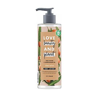 Body Cream with Shea butter and Sandalwood oil 400 ml