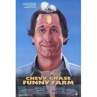 Funny Farm Movie Poster (11 x 17)