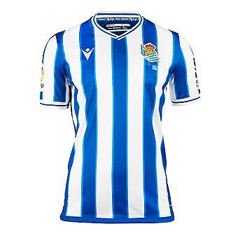2020-2021 ريال سوسييداد قميص المنزل