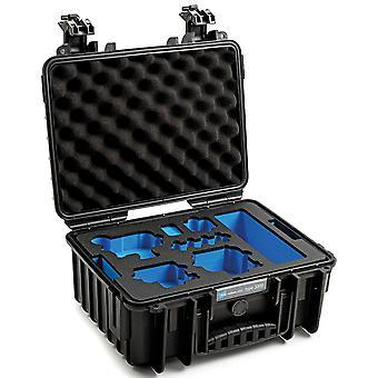 B&W GoPro Case Typ 3000 für GoPro Hero 9/10 mit Schaumstoffeinsatz, Schwarz