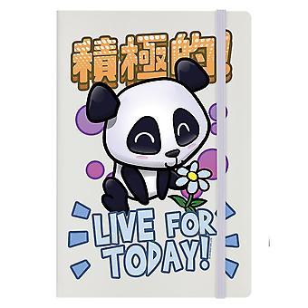 Handa Panda Live For Today A5 Notebook