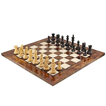 Canterbury Knight Ebony Luxury shakkinappulat