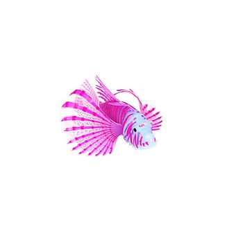 Artificial Aquarium Lionfish Ornament Fish Tank Jellyfish Decor Luminous