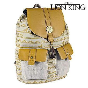 Casual Backpack The Lion King Beige