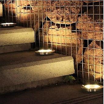 Pochovaný Solárne záhradné osvetlenie vodotesné pre vonkajšie chodník trávnik cesta yard