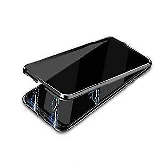 Mobilskal Samsung Galaxy Note 20 härdat glas/magnetiskt Svart
